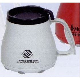 16 Oz. Low Rider Mug with Special Rubber Grip Base & Slider Lid