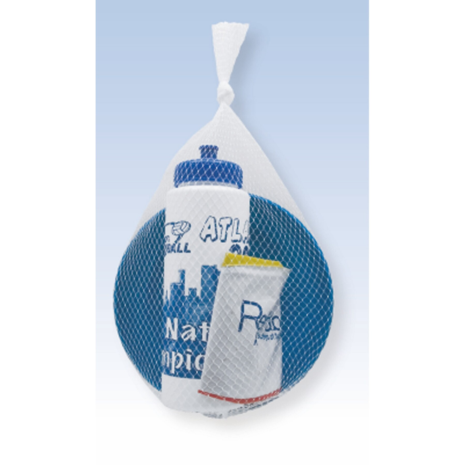 "Adult Fun Kit with Sport Bottle/ 16"" Beach Ball/ Flyer"