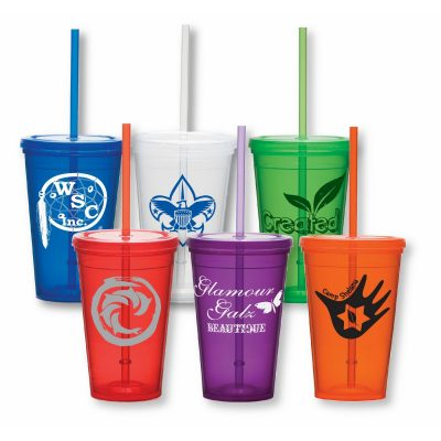 16 Oz. Double Wall Economy Tumbler