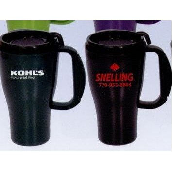 16 Oz. Double Wall Insulated Mug w/ Slider Lid