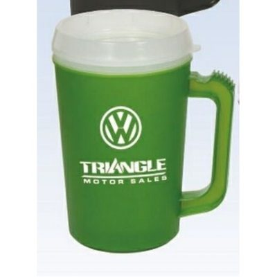 22 Oz. Classic Double Wall Insulated Mug w/ Snap Lid