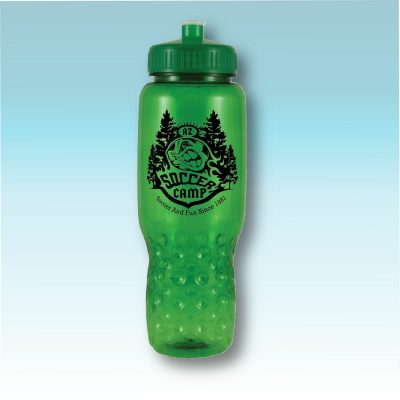 32 Oz. HydroClean Sports Bottle w/ Indented Bubble Bottom