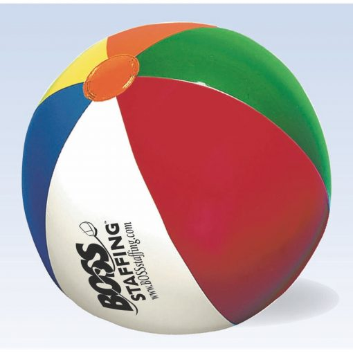 """Beach Ball w/ Multi-Colored Panels (9"""" Inflated)"""