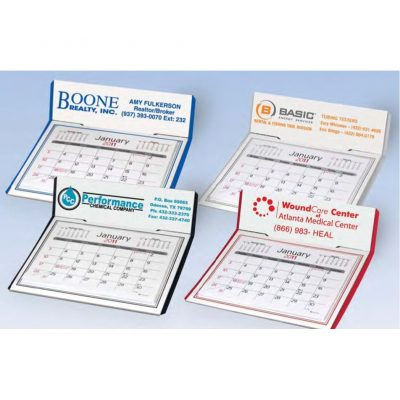 Desk Calendar w/ Easel Back