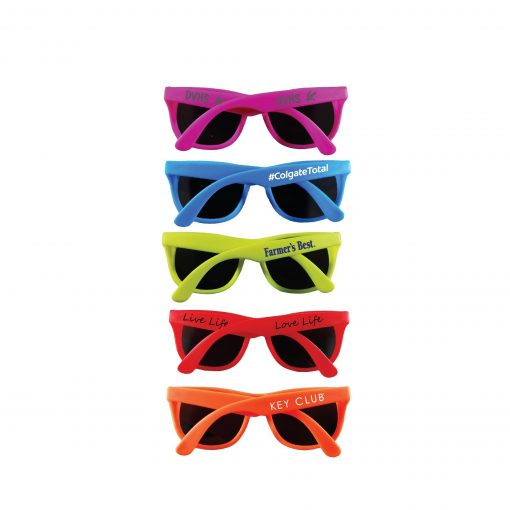 Solid Color Neon Sunglasses